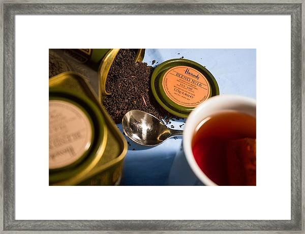 Framed Print featuring the photograph Tea Time by Break The Silhouette