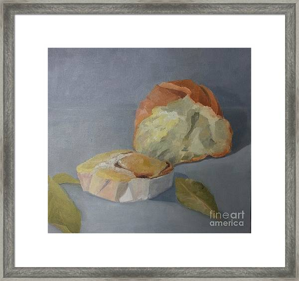 Framed Print featuring the painting Tea Time by Genevieve Brown