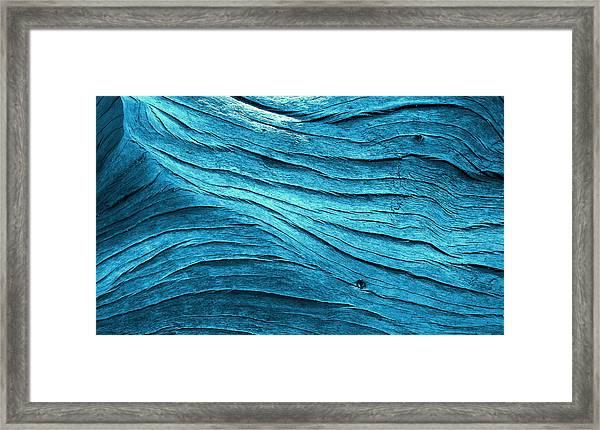 Tealflow Framed Print