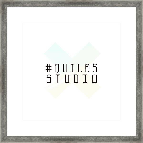 Team Quiles Framed Print