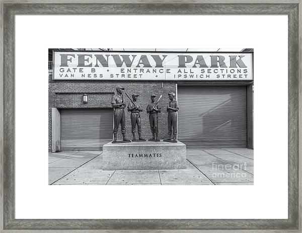 Teammates II Framed Print