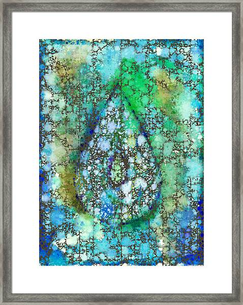 Tears Of Growth Framed Print