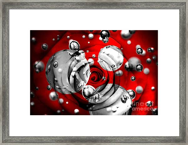Tears Of Passion Framed Print