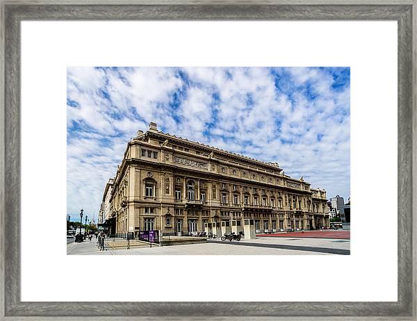 Teatro Colon Framed Print