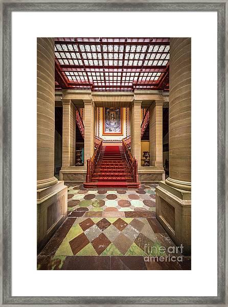 Teatro Juarez Interior Framed Print
