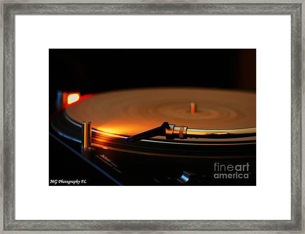 Technics  Framed Print