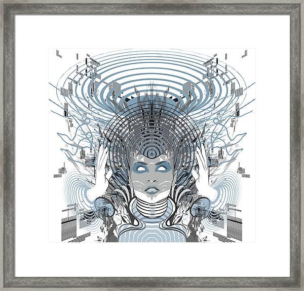Telepathy Framed Print