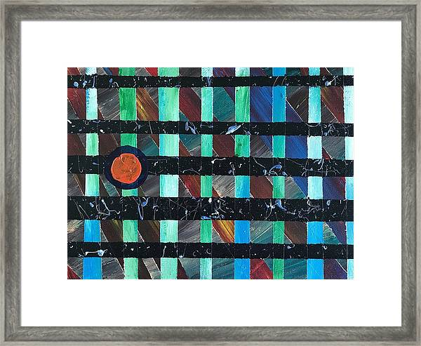 Television Framed Print