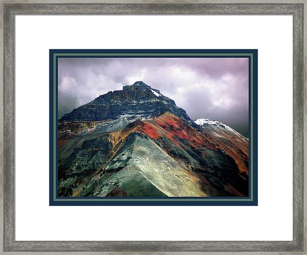 Telluride Mountain Framed Print