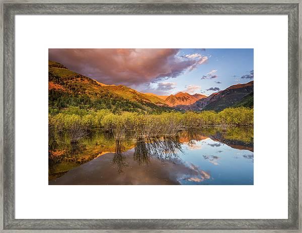 Telluride Valley Floor 2 Framed Print