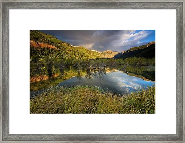 Telluride Valley Floor Framed Print