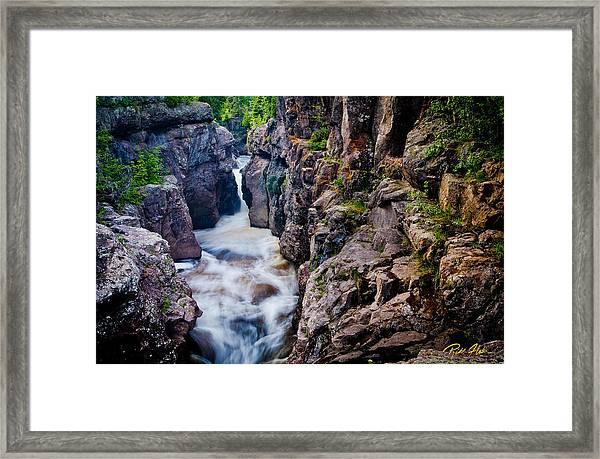 Temperance River Gorge Framed Print