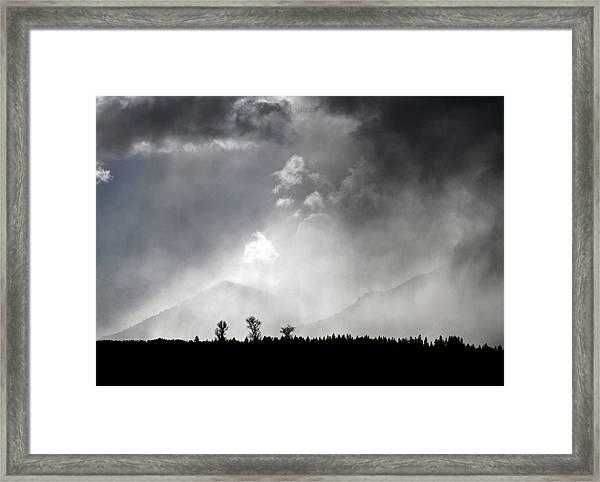 Tempest Framed Print