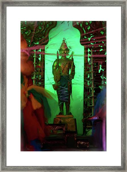 Temple 3 Framed Print