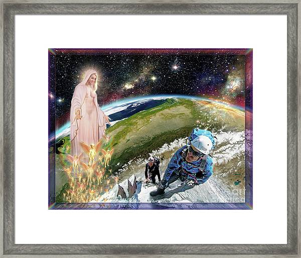 Temptation Of Saint Swarun Framed Print