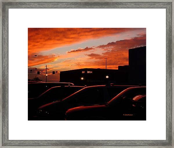 Ten Fourteen P.m. Framed Print