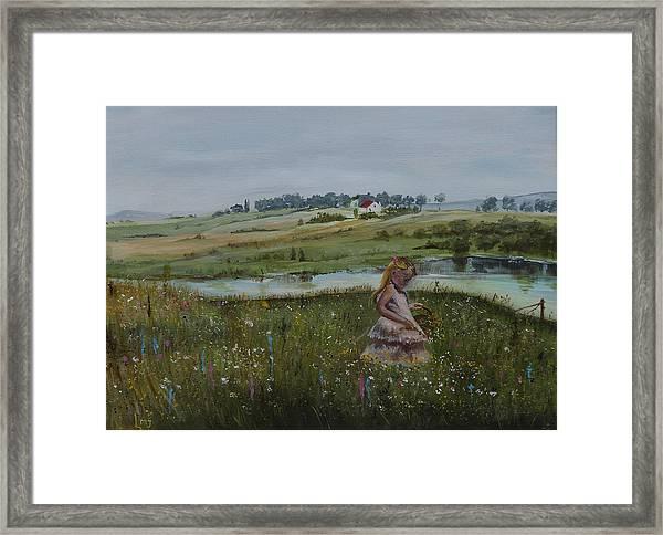 Tender Blossom - Lmj Framed Print