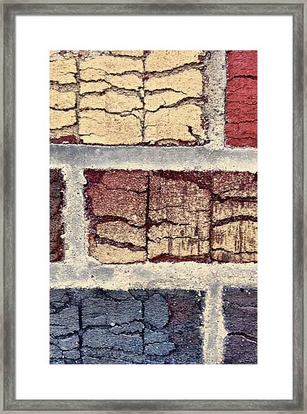 Tender Bricks Framed Print