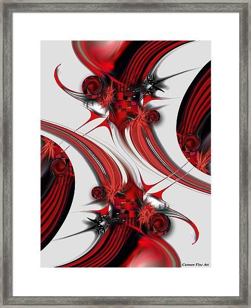 Tender Design - Composition Framed Print