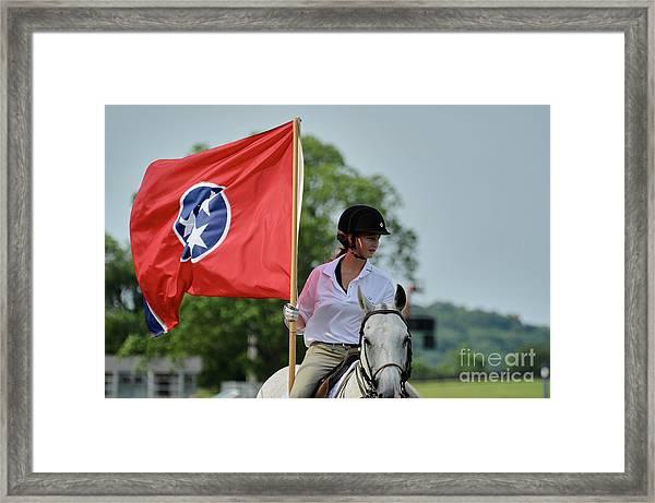 Tennessee Flag Framed Print