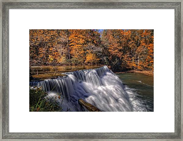 Tennessee Waterfall Framed Print