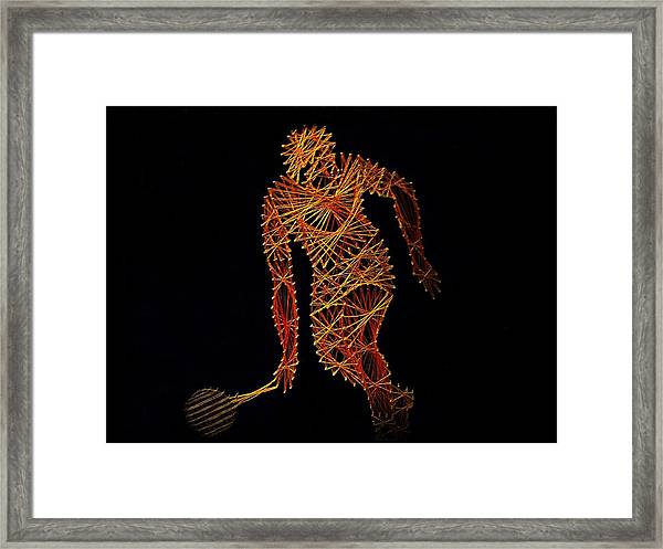 Framed Print featuring the photograph Tennis by David Dehner