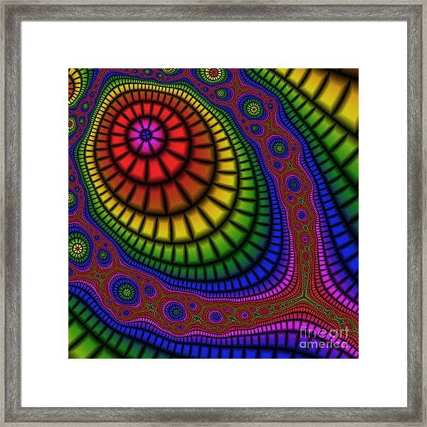 Tennis Racket 227 Framed Print