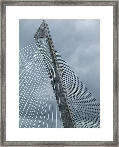 Terenez Bridge IIi Framed Print