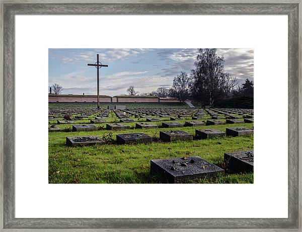 Terezin Memorial Czech Republic Framed Print