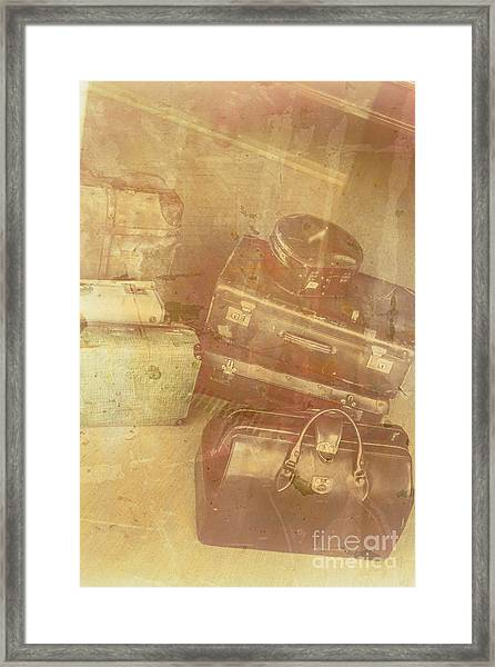 Terminal Goodbye Framed Print