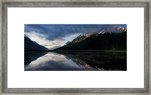 Tern Lake Framed Print