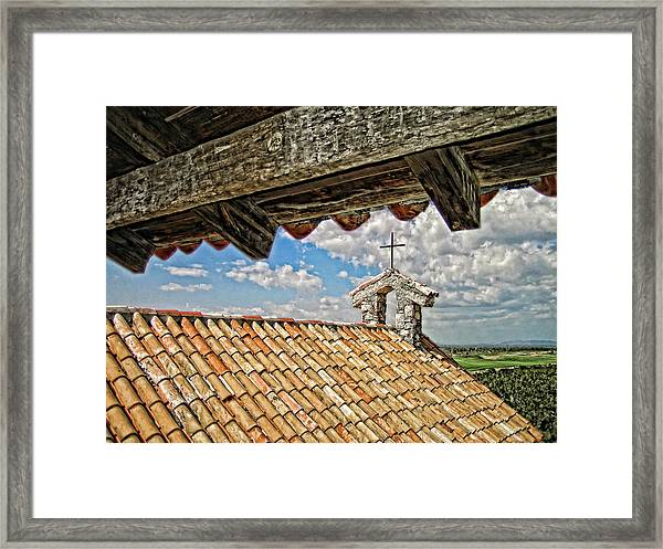 Terra Cotta Church Framed Print