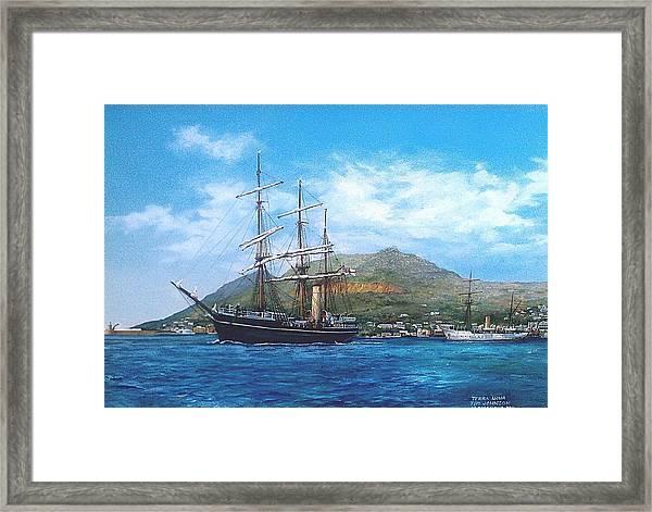 Terra Nova Framed Print