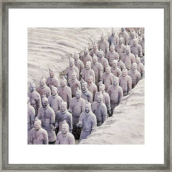 Terracotta Warriors Framed Print