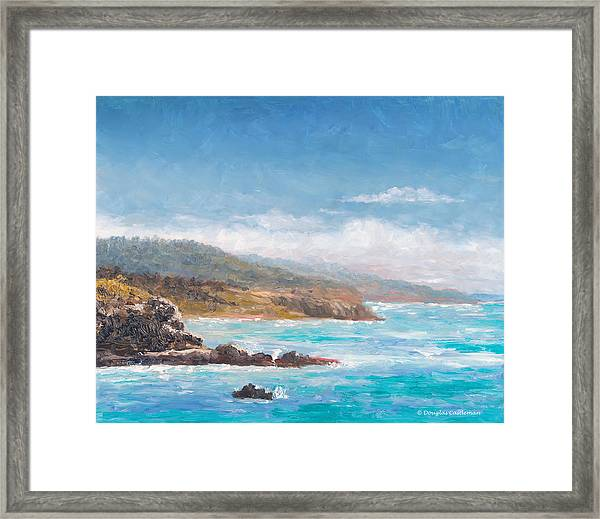 Terranea Pacific View Framed Print