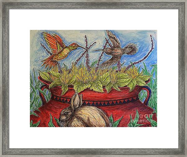 Territorial Rights Framed Print
