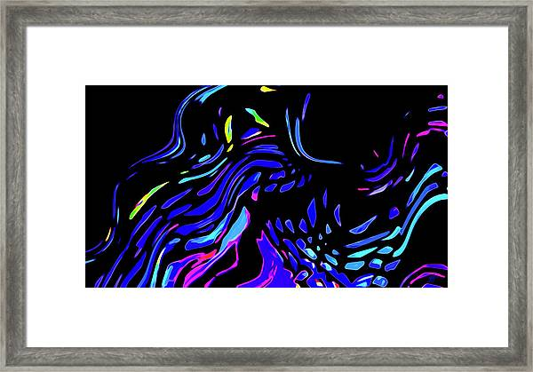 Framed Print featuring the digital art Toccata by Gina Harrison