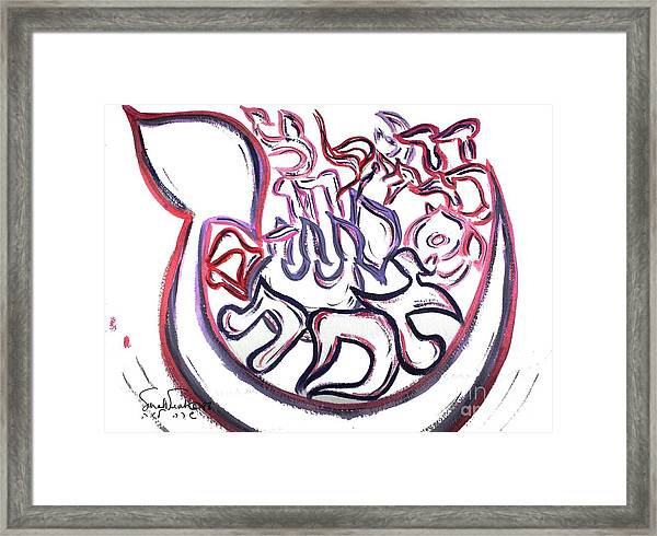 Truth Existance Miracles And More Ab6  Framed Print