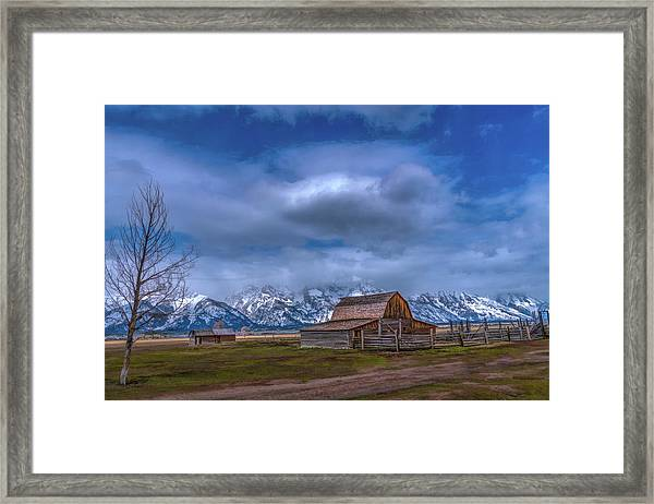 Teton National Park Mormon Row Framed Print