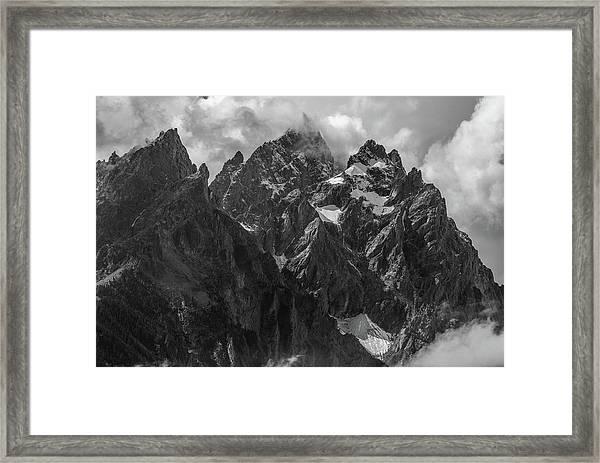 Tetons Framed Print
