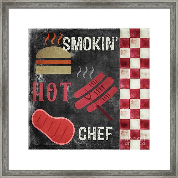 Texas Barbecue IIi Framed Print