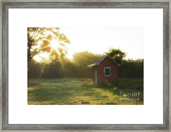 Texas Farm Framed Print