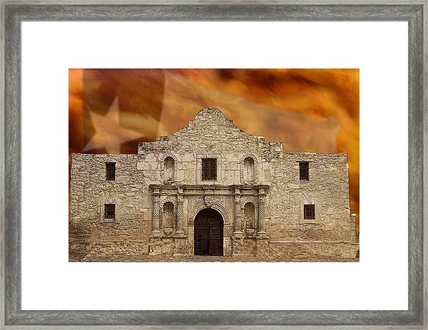 Texas Pride Framed Print