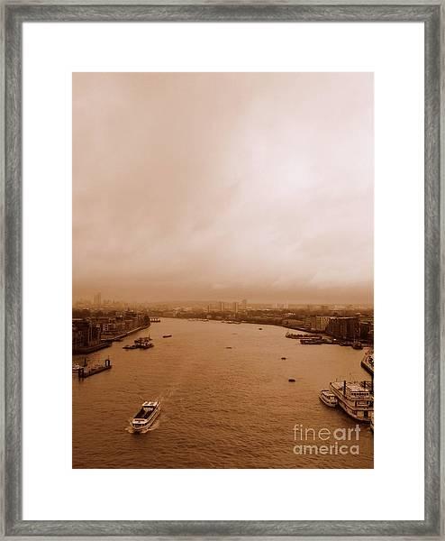 Thames Framed Print