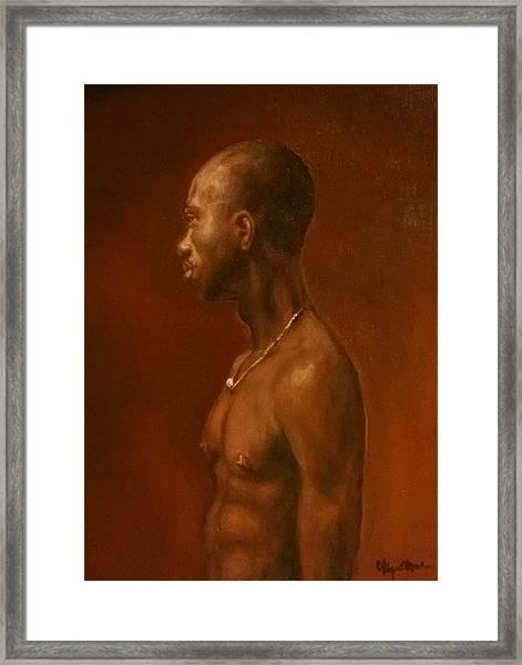 Vincent After Jacob Collins Framed Print