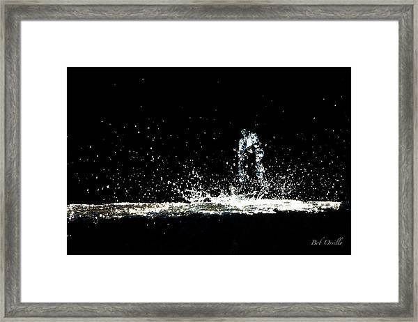 That Falls Like Tears From On High Framed Print