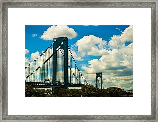 The 2 Mile Drive Framed Print