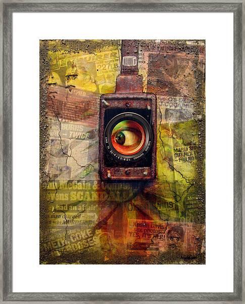 the 7 contemporary sins - Envy Framed Print