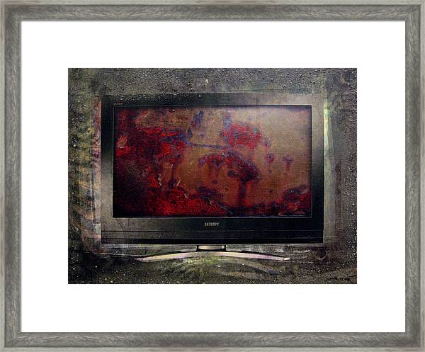 the 7 contemporary sins - Sloth Framed Print