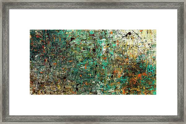 The Abstract Concept Framed Print